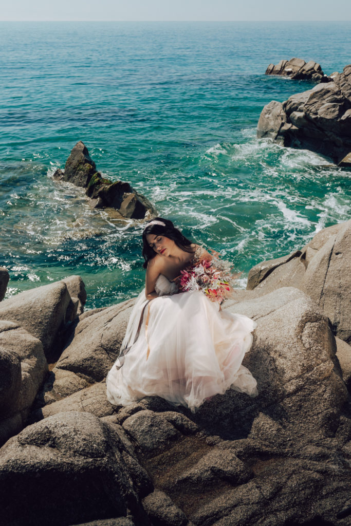 bridal shoot in costa brava