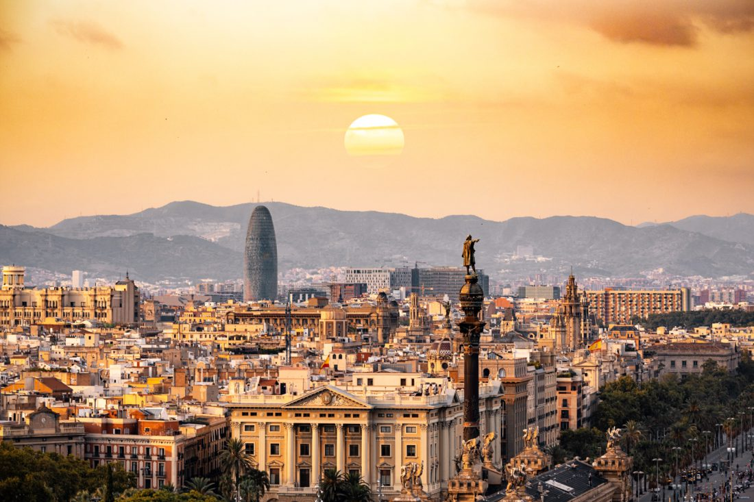 Barcelona skyline, Barcelona weddings, Wedding planning in Barcelona,Wedding planning tips